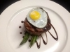 Grilled Asparagus, Filet, and Local Quail Egg