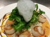 Sweet Maine Scallops and Fresh Garden Peas
